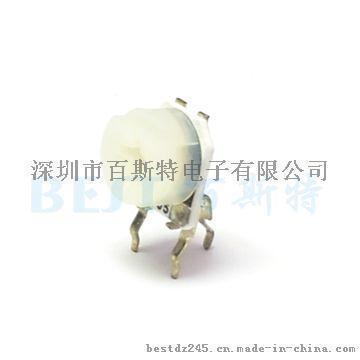 供应百斯特  JML可调电阻陶瓷可调电阻RM065G-H3白色
