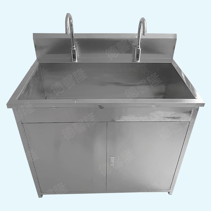 东莞不锈钢洗手台双位洗手柜制造商