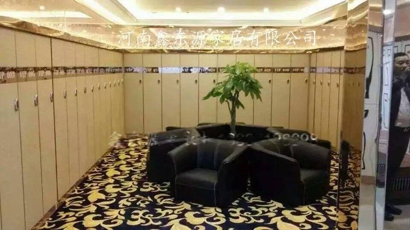 郑州洗浴中心 衣柜浴室浴池木质 衣柜批发