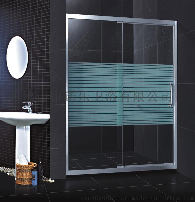 L型浴室 沐浴房简易 整体玻璃浴房