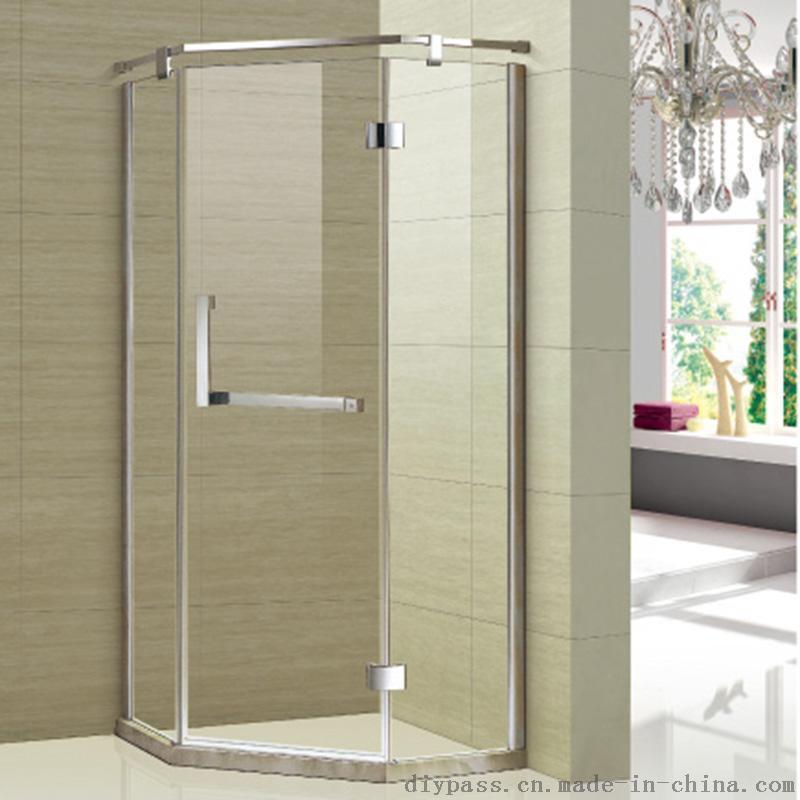 鼎派卫浴 304不锈钢工程钻石淋浴房