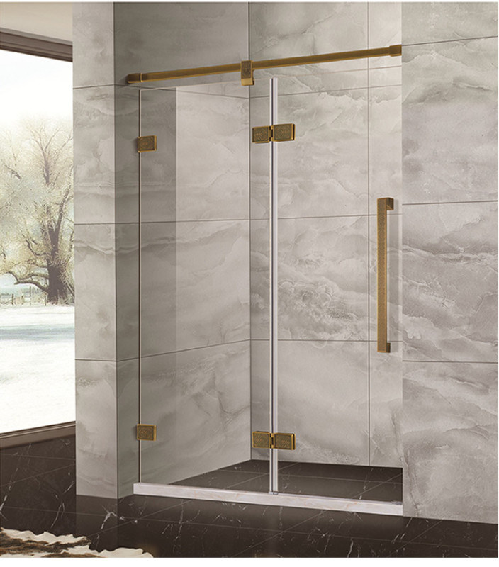 SUS不锈钢干显分离淋浴房隔断定制