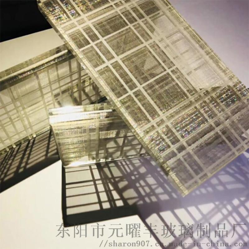 浙江玻璃厂直销夹丝玻璃 防火安全4+4夹胶玻璃