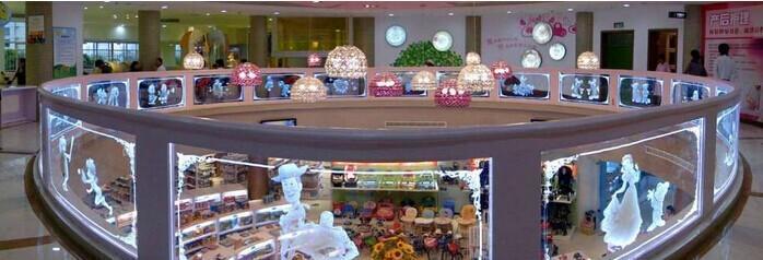 广州斯坦柏内雕发光玻璃吧