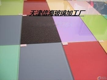 天津信海烤漆玻璃