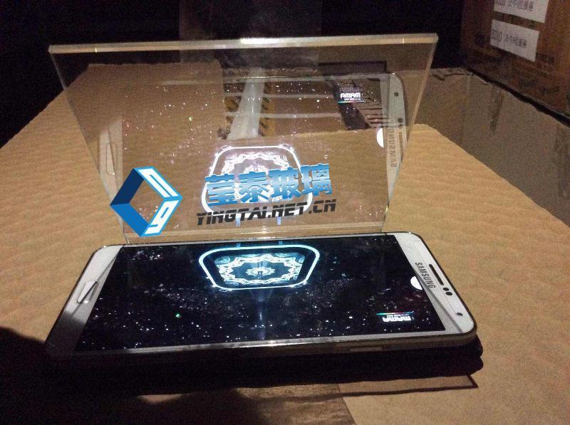 全息投影玻璃哪家技术专业 5mm超白全息玻璃