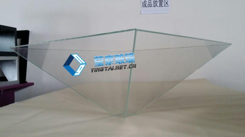 温州全息投影玻璃 4mm空中成像玻璃低价促销