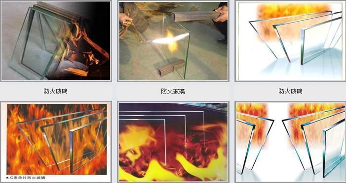 济南恒保单片防火玻璃