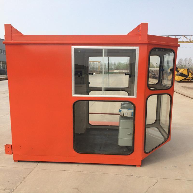 1.4*1.6钢化玻璃司机室外壳 行吊司机室