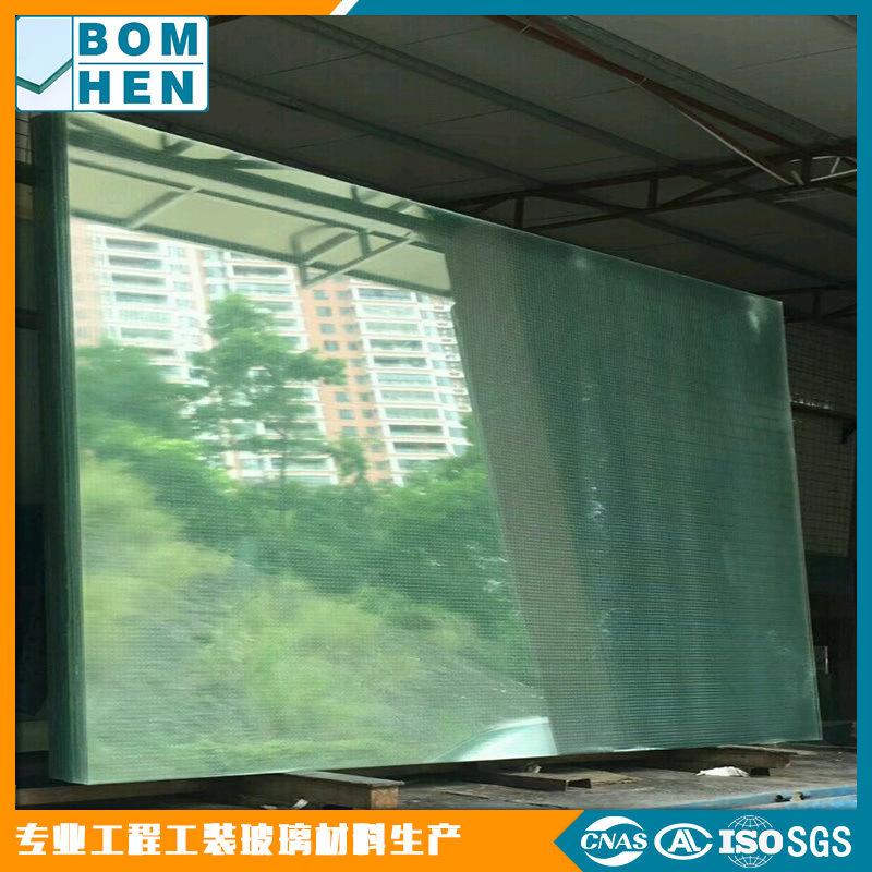 夹丝玻璃源厂生产加工 国产进口多选