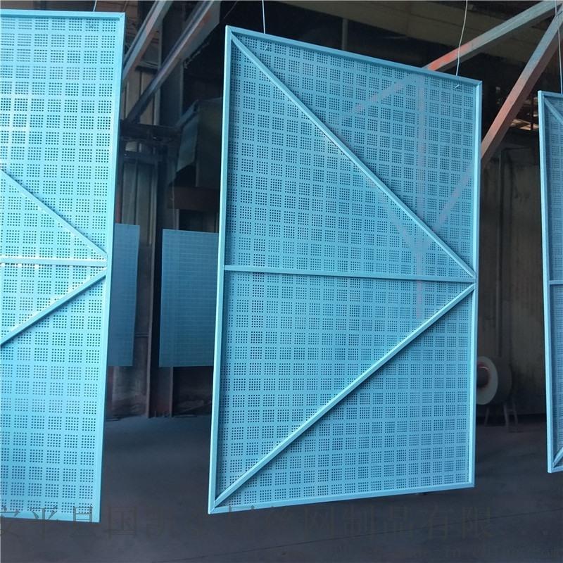 建筑爬架网片 圆孔网片 加框网片