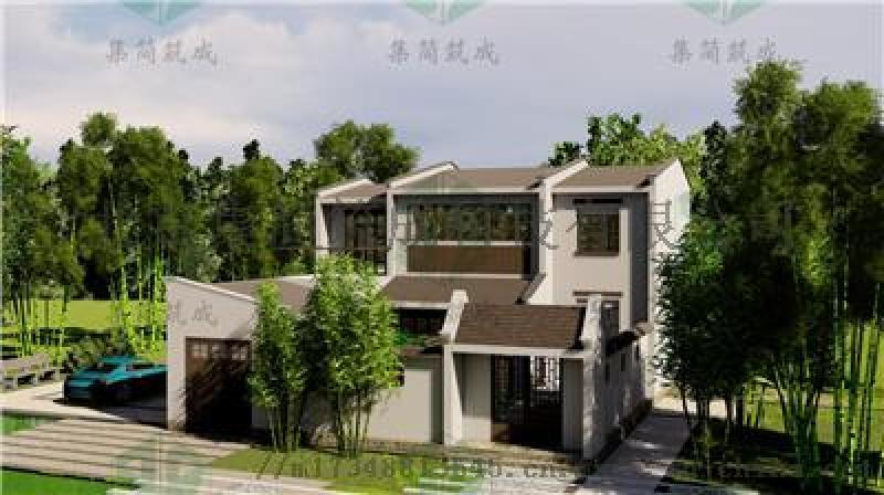 北京市延庆农村钢结构别墅住宅施工