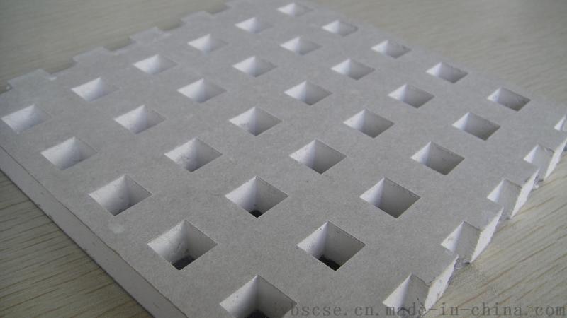 穿孔纸面石膏板造型板 吸音