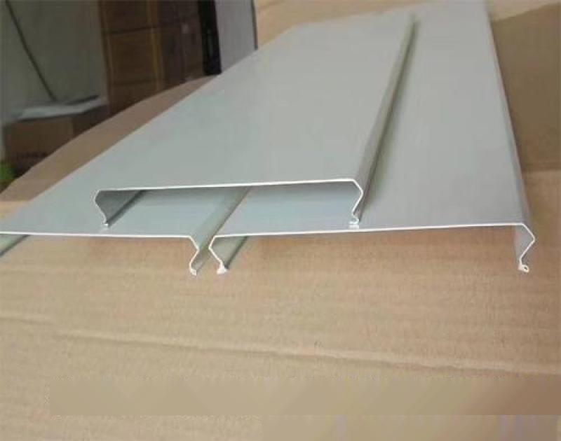 防风铝条扣规格大全 木纹铝条扣颜色定制厂家