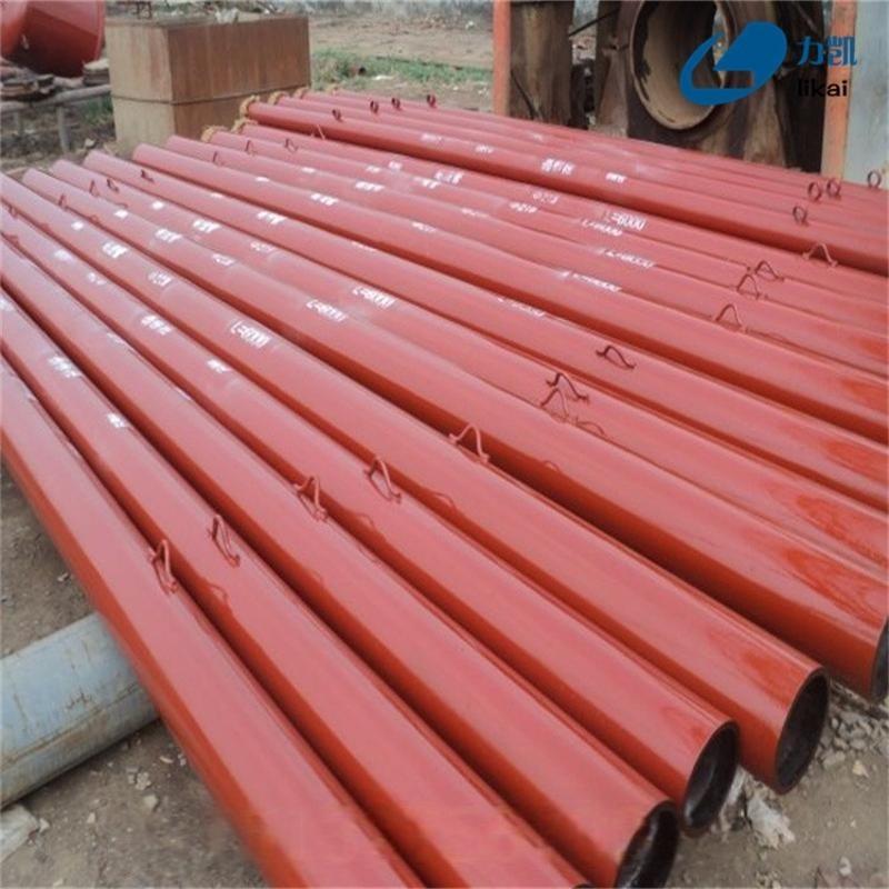 内衬陶瓷复合耐磨管道专业厂家自蔓燃陶瓷耐磨管