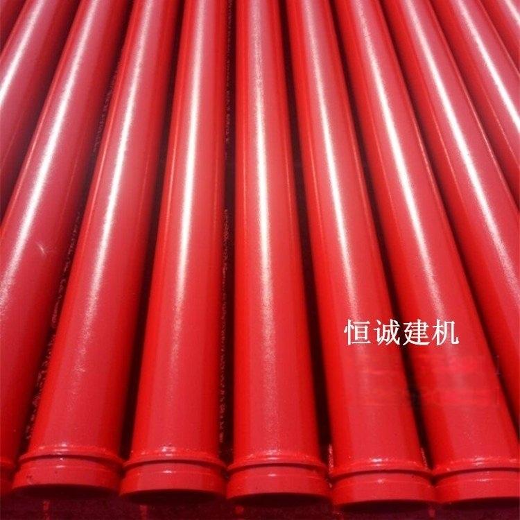 输送混凝土管道125地泵管子砼泵管配件管卡泵管扣