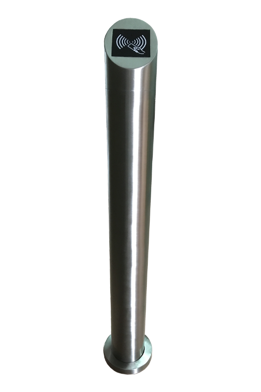 刷卡立柱 出门开关按钮不锈钢柱 防水304不锈钢