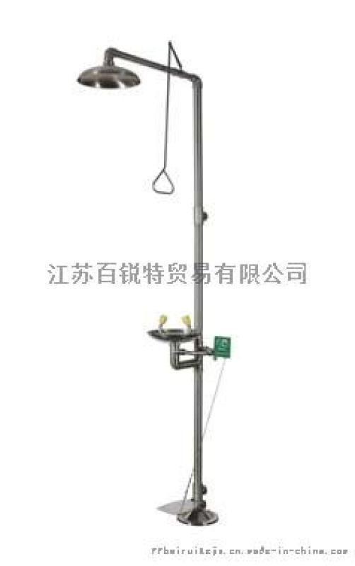 BTF21 复合式小踏板冲淋洗眼器