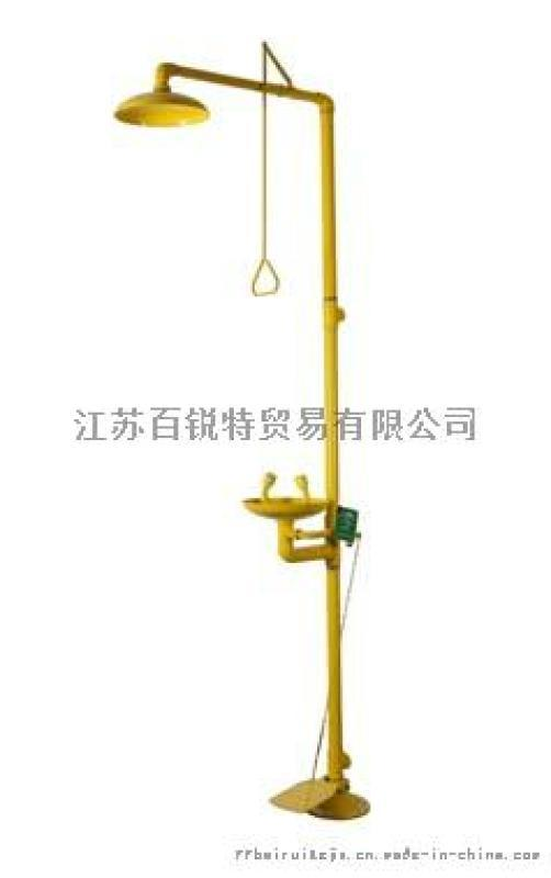 BTF21-A 防腐蚀复合式踏板双防洗眼器
