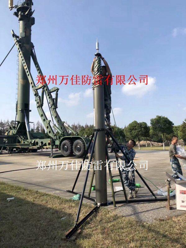 10米速新升降避雷针,速新SX-BL01升降避雷针