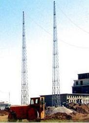 河北万信铁塔制造设计,制作避雷针塔,避雷塔
