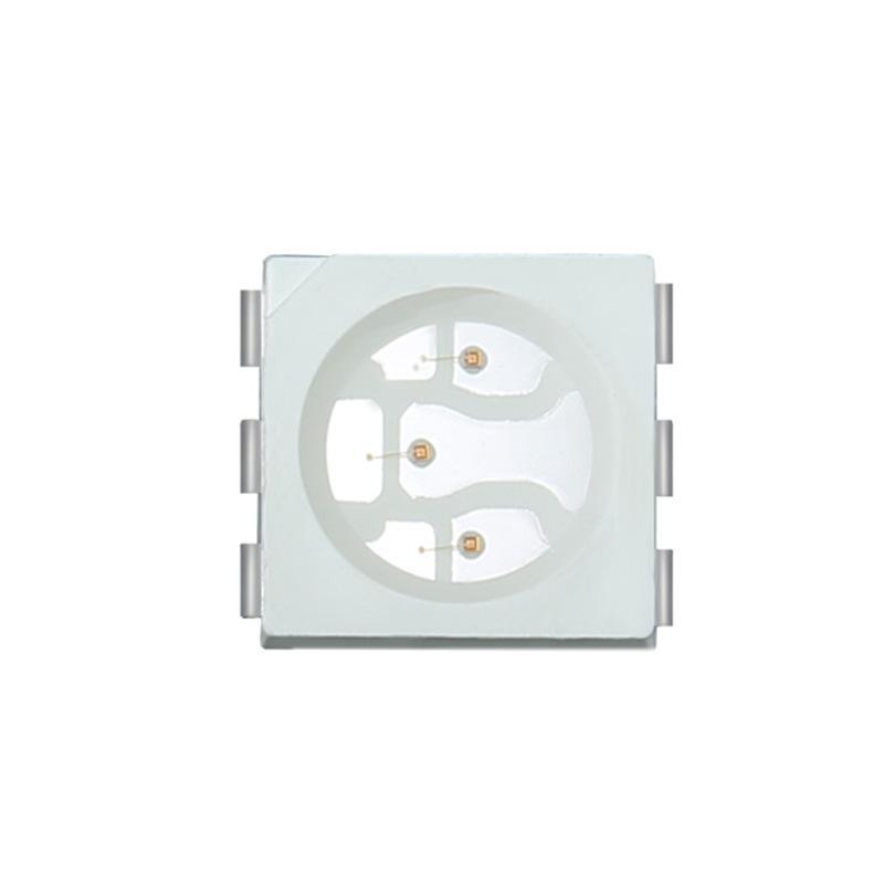 led5050贴片灯珠红光   亮灯室内照明交通信号灯光源--荧月电子