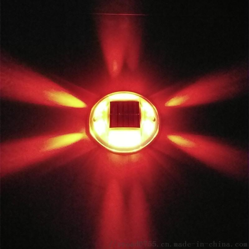 太阳能塑料道钉,圆形PC道钉灯