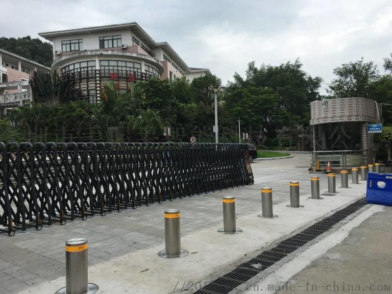 江苏厂家直销固定式防撞不锈钢升降柱