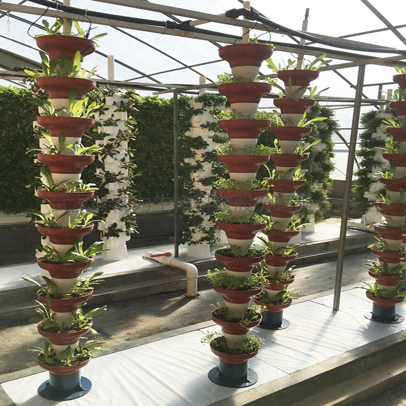 温室大棚 叠碗式 立体基质栽培柱