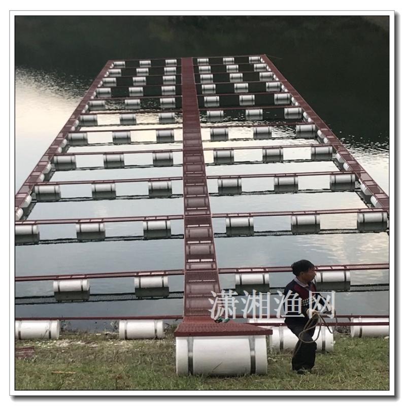 厂家供应PE养鱼网箱 水库养鱼网箱 聚乙烯养殖网箱