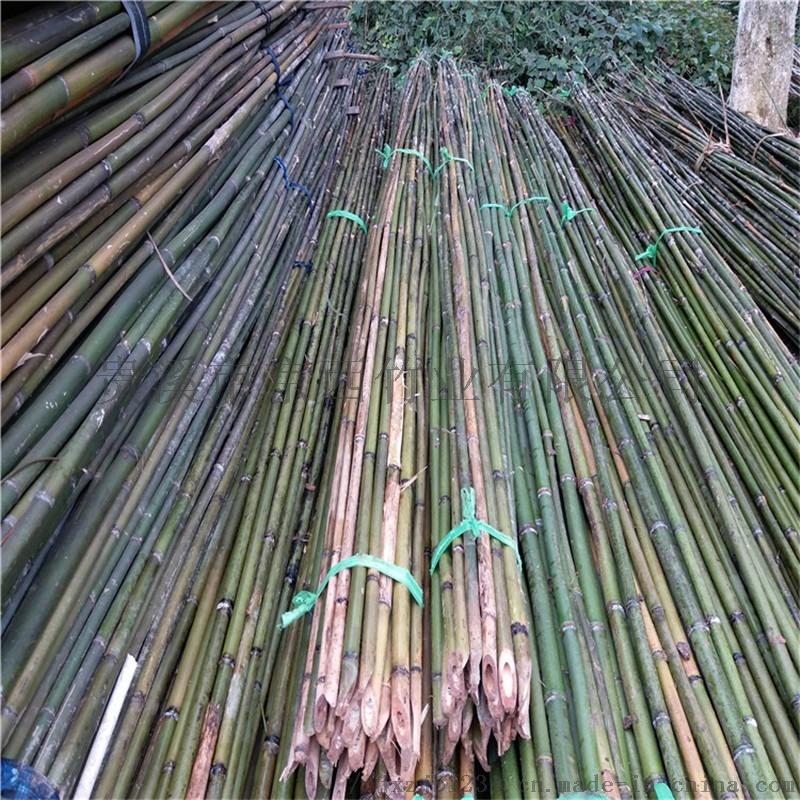 供应北京粗细竹竿 蔬菜支架果树支撑绿化支撑竿