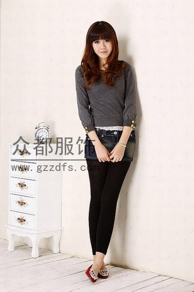 时尚韩版女士牛仔裤