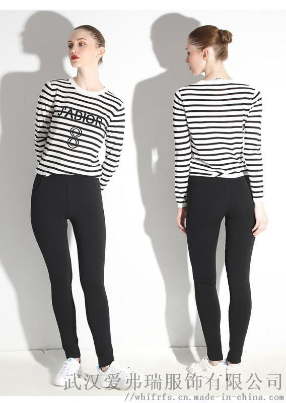 女装店在哪进货哥芙妮18年冬装新款高腰羽绒裤