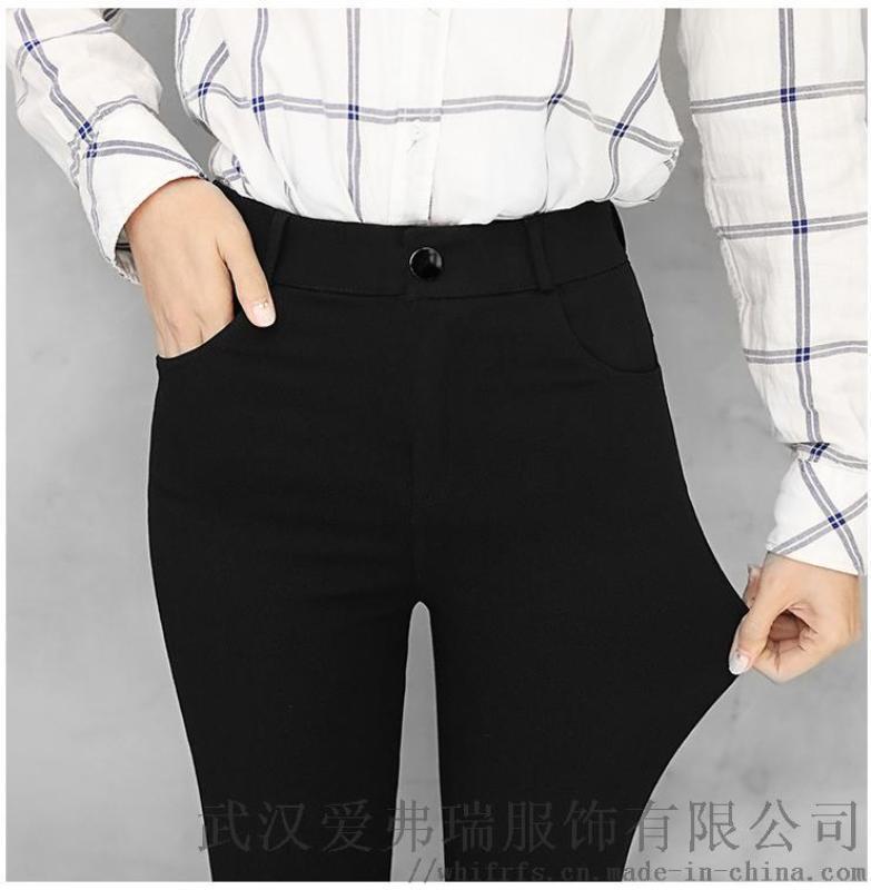 女装厂家直销货源江南布衣18年冬装新款棉裤女外穿