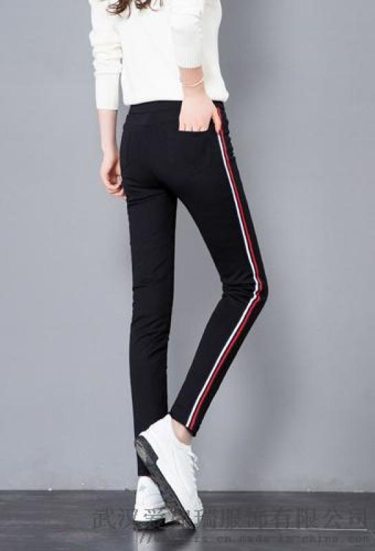 卖女装怎么进货东方颖秀冬装新款高腰鸭绒裤