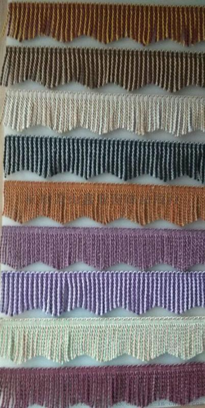 窗帘服装沙发辅料配件三角扭排三角绳排