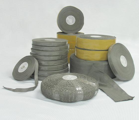 不锈钢金属纤维机织带