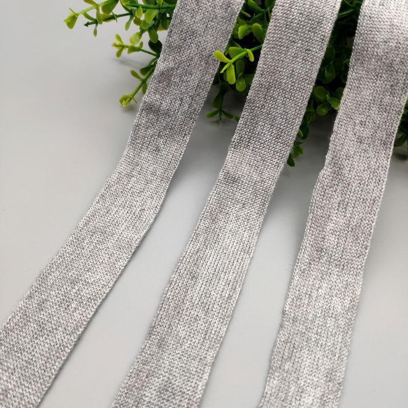 丝光棉针织带高品质针织平纹织带DIY鞋帽服装肩带