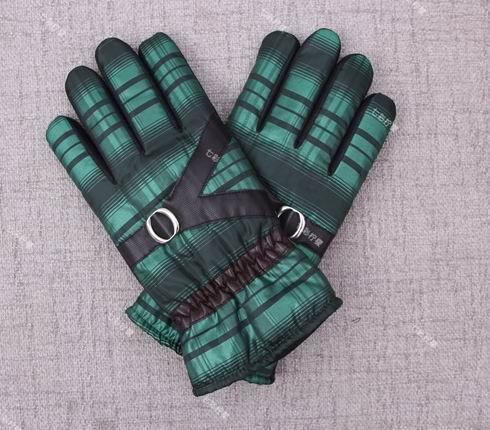 男式布料保暖手套