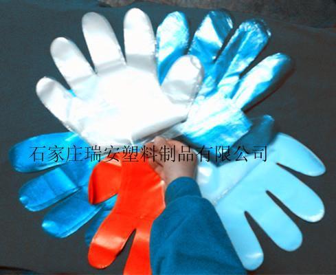 瑞安牌中号透明一次性PE手套
