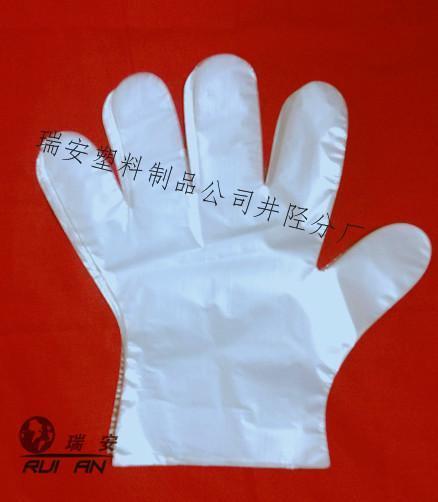 加厚薄膜一次性手套批发价格