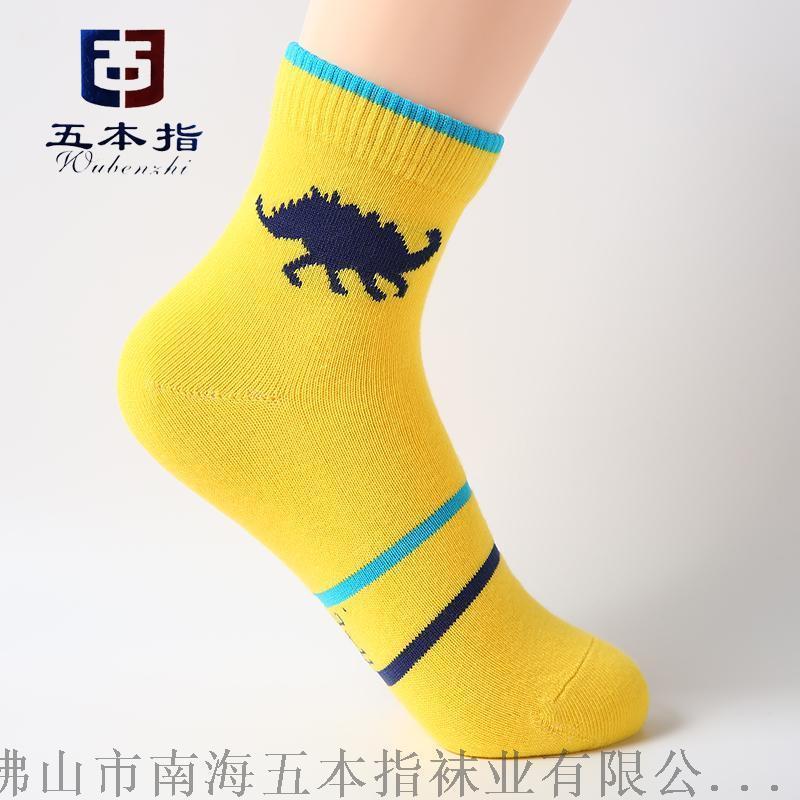 袜子生产厂家直批 卡通图案纯棉吸汗品牌儿童袜子批发