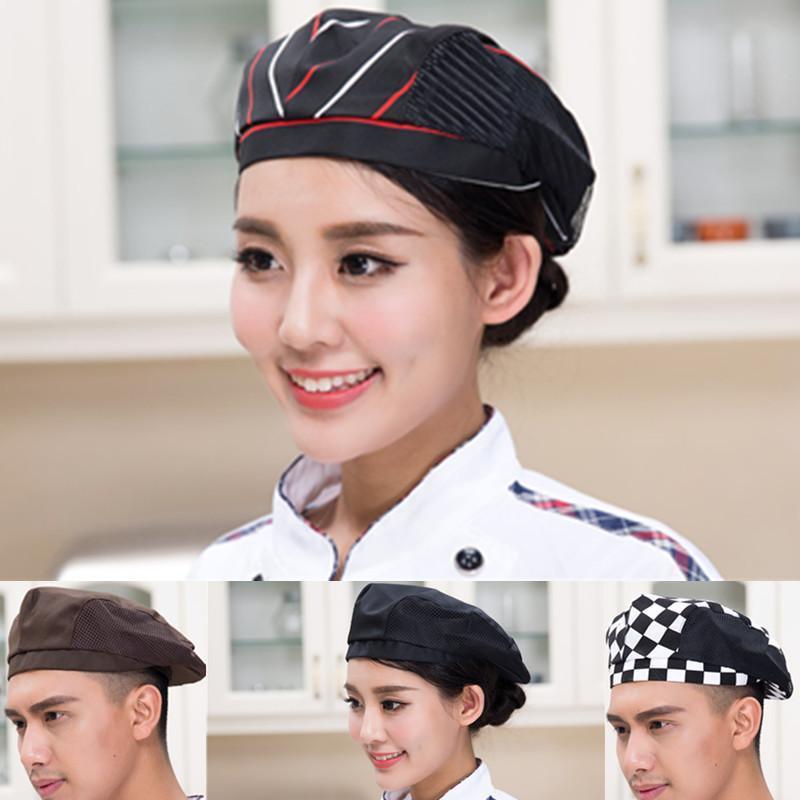 餐饮酒店工作帽 厨师帽 咖啡酒吧西餐厅贝雷帽厨师帽