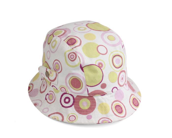 白色帆布渔夫帽9C0278